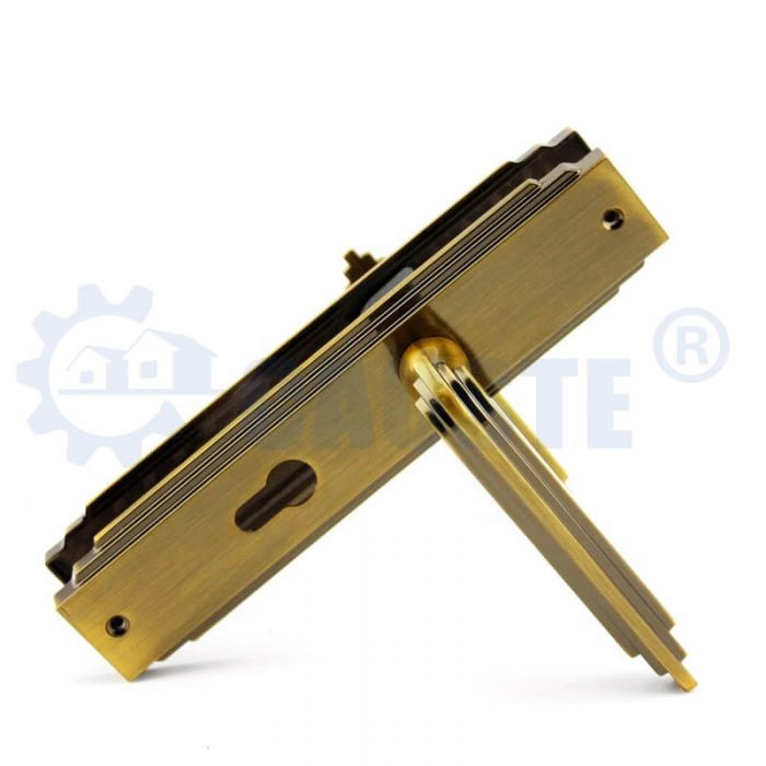 Mortise Door Lock Zinc Alloy Plate Door Locks Living Room Door Handles