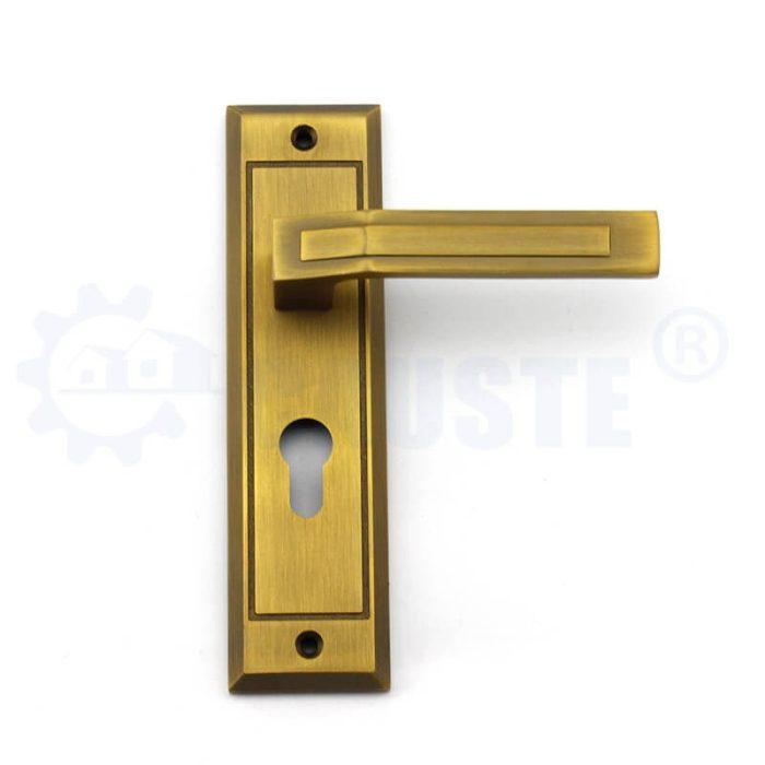 Antique door lock zinc alloy home door lock security door handle locks