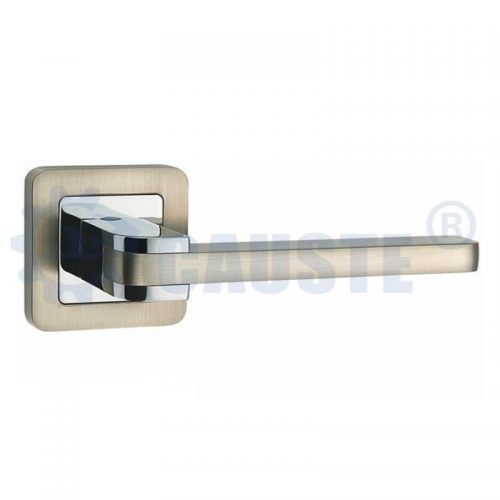 China manufacturer New design zinc alloy bedroom door handle
