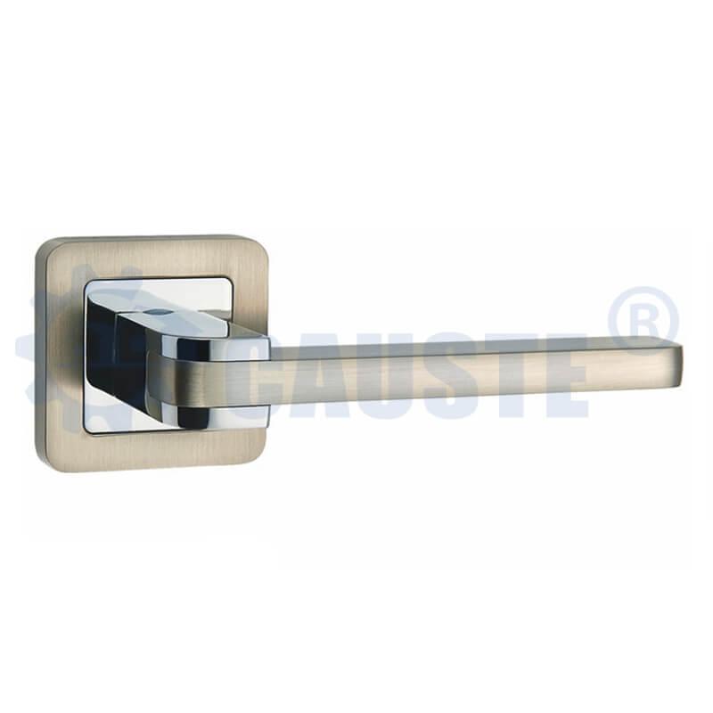 China manufacturer New design zinc alloy bedroom door handle