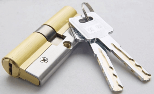 C level door lock cylinder