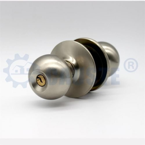 New design key 8791 brass cylindrical round door knob locks