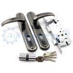 Wrought entry door hardware internal door locks bedroom combination door lock