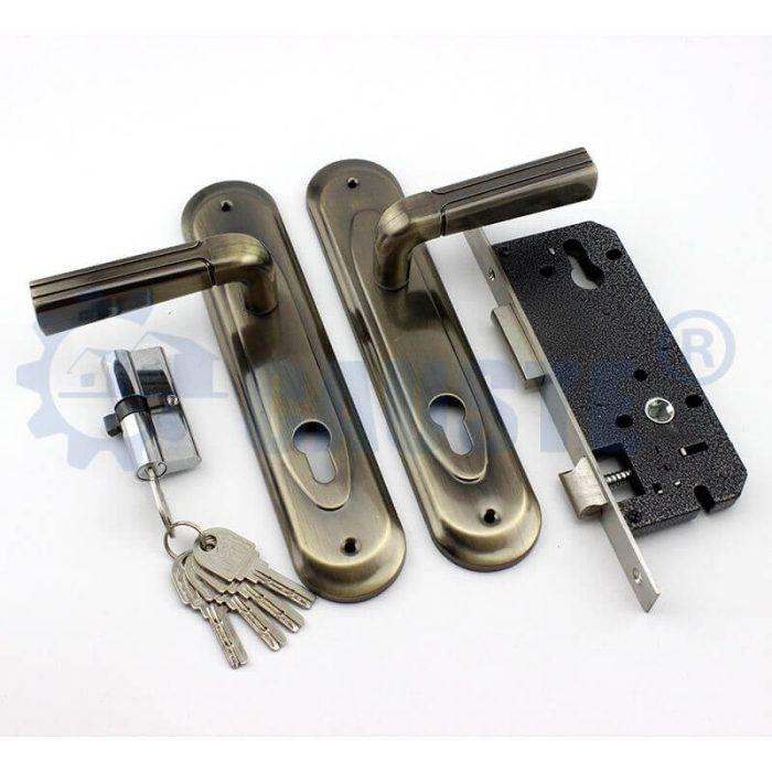 casting iron handle hotel door locks safety door locks exterior door locks