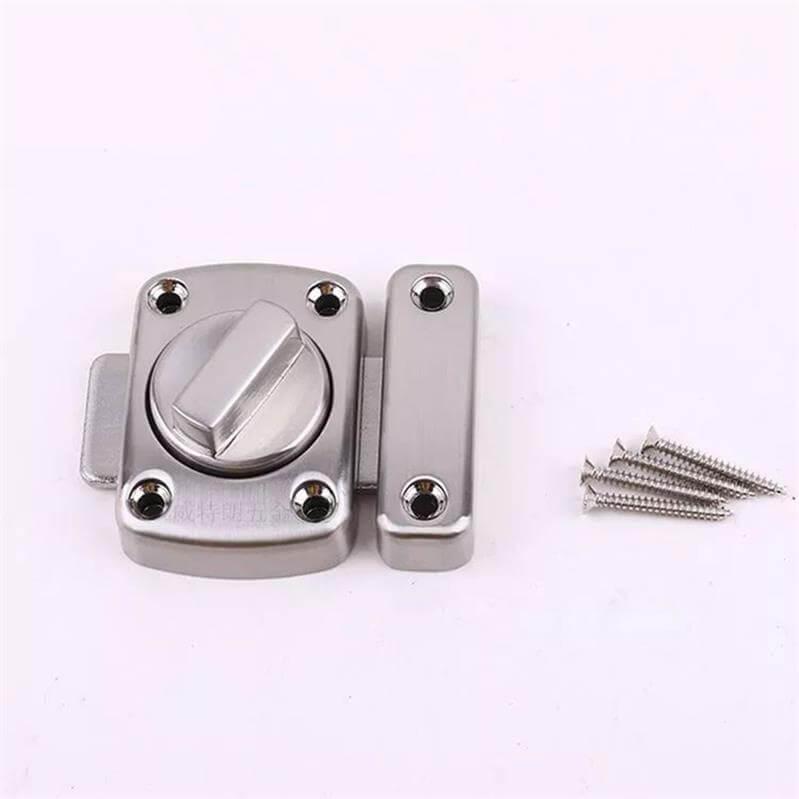 zinc door lock latch