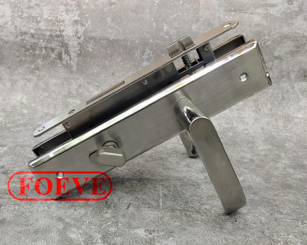 causte inox door locks 8545