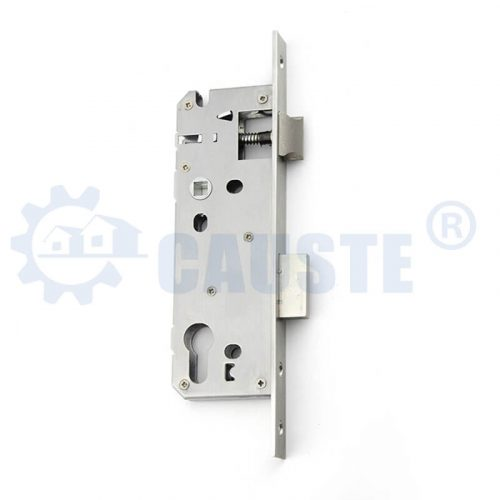 Euro size Stainless steel door lock body cylinder hole aluminum door lock body