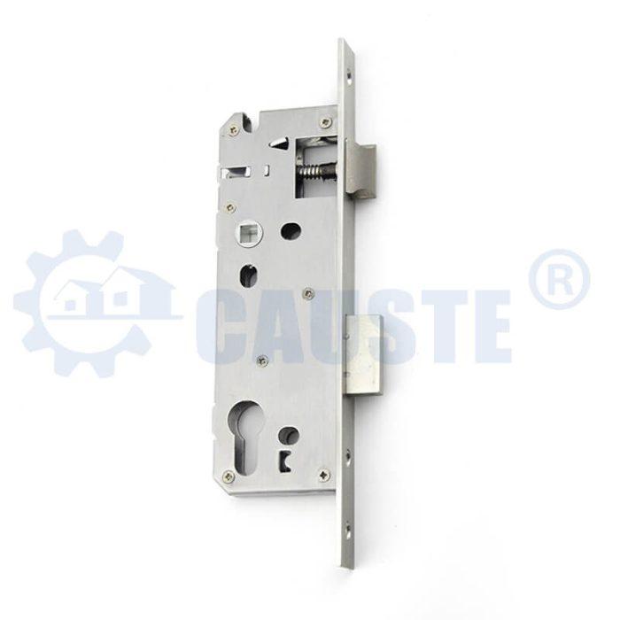 Euro size Stainless steel door lock body cylinder hole aluminum door lock body