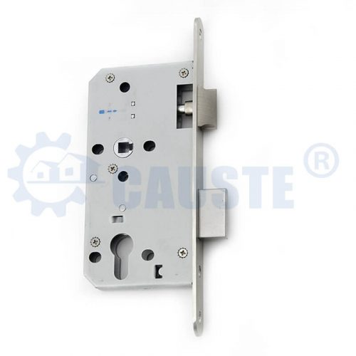 5572 Euro size Stainless steel door lock body cylinder hole wooden door lock body