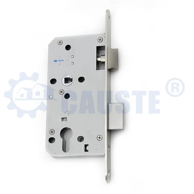 5572 Euro size Stainless steel door lock body cylinder hole wooden door lock body