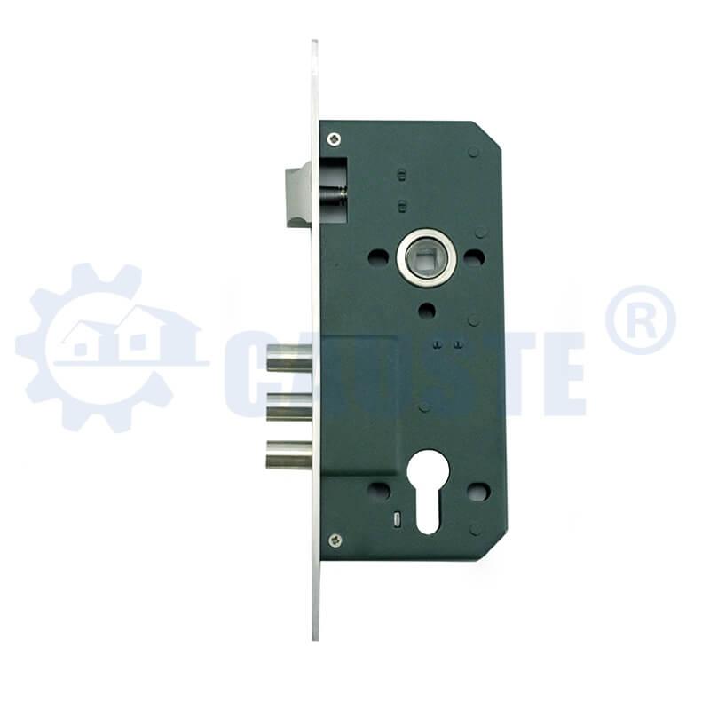 3 round bolt mortise door lock body good quality wooden door usage lock body